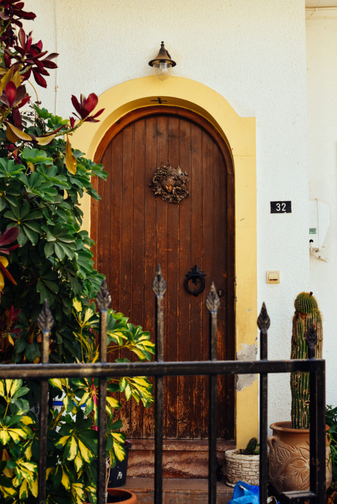 Crete. Doors